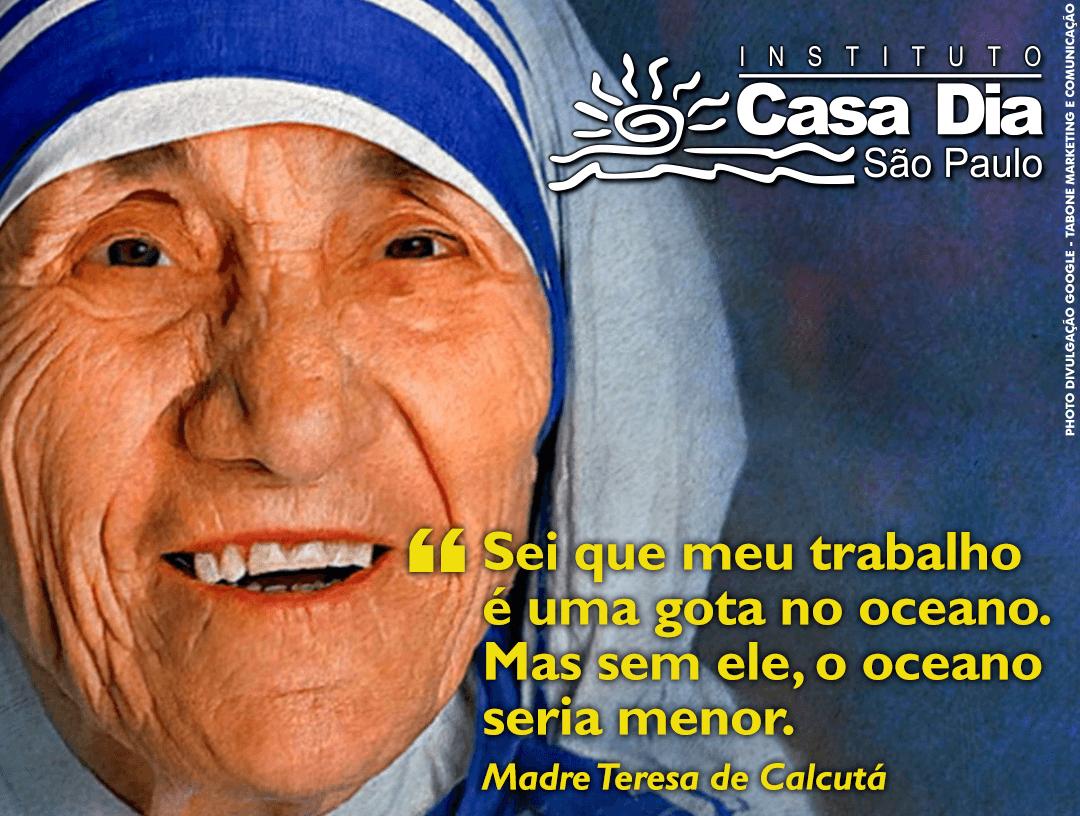 Uma Gota No Oceano Madre Teresa: Blog Do Instituto
